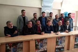 Antep'te işçileri asgari ücret kampanyasına valilik engeli