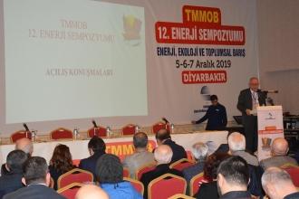 İlk kez Diyarbakır'da düzenlenen 12. Enerji Sempozyumu başladı