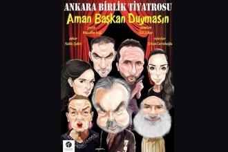 """Muzaffer İzgü'nün yazdığı tiyatro oyunu """"Aman Başkan Duymasın"""" Malatya'da sansürlendi"""