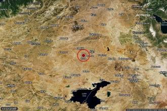 Ağrı'da 3.5 büyüklüğünde deprem meydana geldi
