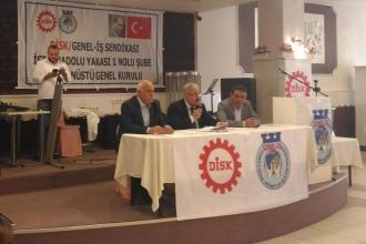 Genel-İş Anadolu Yakası 1 Nolu Şube, merkezin dayatmasıyla gittiği kongreyi tamamladı