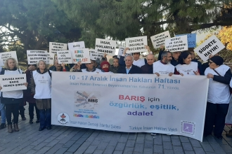 10 Aralık İnsan Hakları Günü eylemleri: İnsan onuru ve hakları için mücadeleye devam
