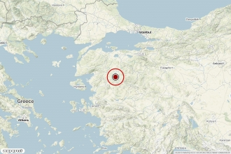 Balıkesir'de 4.6, 4.3 ve 4.0 büyüklüğünde peş peşe üç deprem