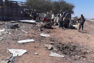 Somali'deki bombalı saldırıda 3 kişi öldü, 6'sı Türkiyeli 20 kişi yaralandı
