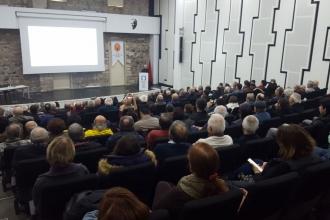 JMO İzmir Şubesi, Kanal İstanbul projesiyle ilgili konferans düzenledi