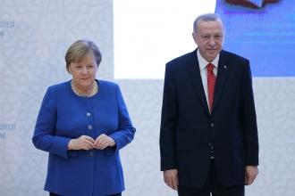 Merkel Türkiye'de | Erdoğan: Libya'daki kaos tüm Akdeniz havzasını etkileyecektir