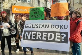 Kadıköy'de eylem yapan kadınlar sordu: Gülistan Doku nerede?