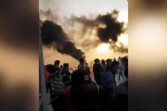 Irak'ta eylemcilere ait çadırlar kundaklandı: 2 ölü, 18 yaralı