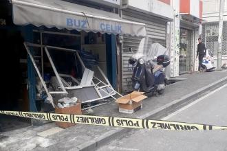 Beyoğlu'nda bir işyerinde patlama meydana geldi: 1 işçi hafif yaralandı