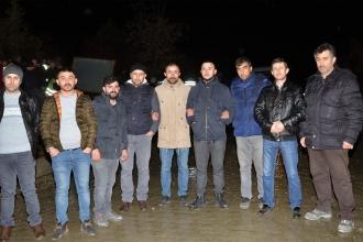 Kastamonu'da maden işçileri işten çıkarılan arkadaşlarına destek için greve başladı