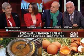 Televizyonlarda koronavirüs maskaralığı: Kelle paçayı bırak, modern tıbba bak