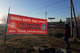 Direnişteki işçiden, Megam Tekstil yöneticileri hakkında suç duyurusu