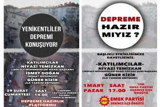 Kocaeli'de düzenlenecek etkinliklerde deprem gerçeği konuşulacak