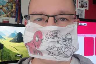 Zagor'un Çiko'su maske takmaya çağırıyor: KarambaKarantina