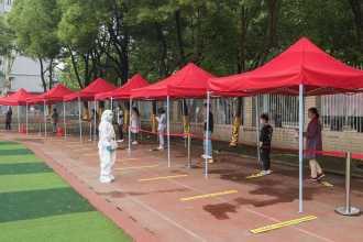 Vuhan'da 10 günde 6,5 milyon kişiye koronavirüs testi yapıldı