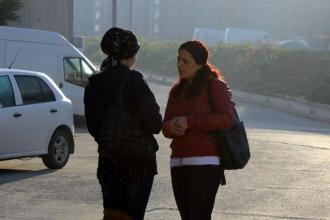 İşçi kadınlarla kısa bir sohbet