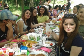 Çorlu'da kadınlar Ekmek ve Gül pikniğinde buluştu