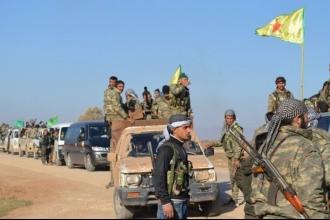 Rojava cepheleri : Savunma, hücum ve hazırlık