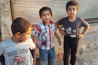 Savaş, yoksulluk ve çocuklar...