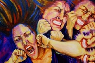 Kadına şiddet demeyelim; konuyu büyütmeyelim!