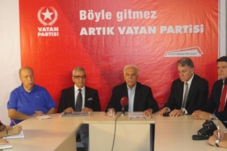 Vatan Partisi seçime parti olarak giriyor