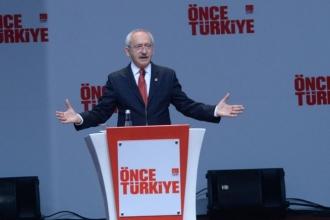 CHP, Seçim Bildirgesini Ankara'da açıkladı