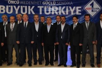 TBMM Başkanı Yılmaz, Memur Sen'lilerle buluştu: 'İstiyorlar ki Türkiye bağımsız olmasın'
