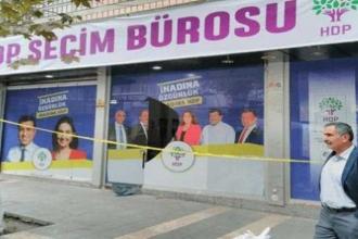 Malatya'da HDP binası saldırıya uğradı