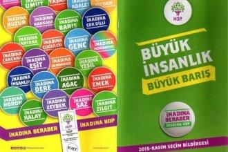 HDP'nin seçim broşürleri için yaptığı itiraz reddedildi