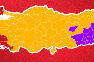 1 Kasım seçimi sonuçlarına göre illerde kazanan milletvekilleri