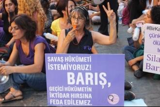 Kadınların barış mücadelesinde 2015: -di'li geçmiş  zamandan şimdiki zamana