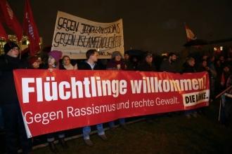 Almanya 2015-2016:  Dayanışma, korku ve cesaret