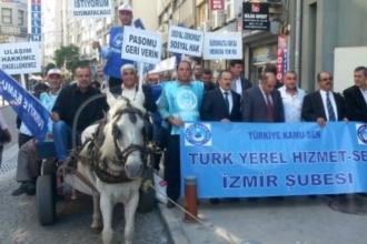 Türk Yerel Hizmet-Sen Genel Başkanı İlhan Koyuncu: Tereddüt etmeden eyleme geçeriz