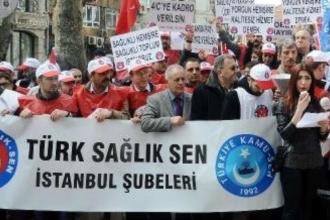 Türk Sağlık-Sen Genel Başkanı Önder Kahveci: Memur 'hükümetin memuru' yapılmak isteniyor