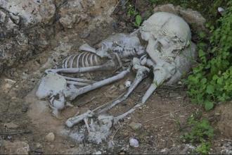 12 bin yıl önce, ihtişamlı bir cenaze töreni düzenlenmiş
