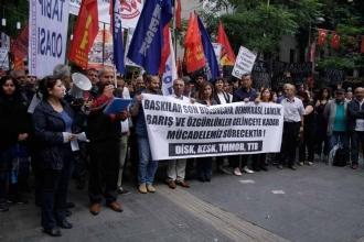 Gözaltı ve tutuklamalara Ankara'da tepki gösterildi