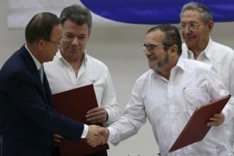 Kolombiya'da ateşkes imzalandı:Bugün savaşın son günü olsun