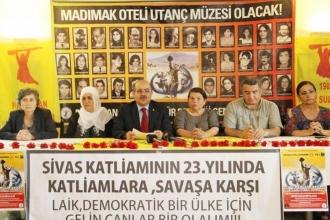 Sivas Katliamı'nda ölenleri anma programı açıklandı