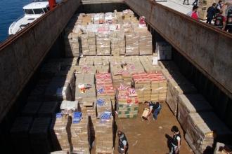 Yaklaşık 22 milyon paket kaçak sigara yakalandı
