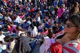Arjantin'de toplu emzirme eylemi