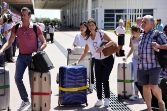 Antalya 2016'da 5 milyon turist kaybetti