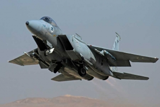 İsrail'den Suriye ordusu mevzilerine hava saldırısı