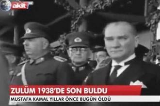 Akit'in 'Atatürk'e hakaret' davanın ilk duruşması görüldü