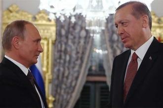 Erdoğan'la Putin telefonda Suriye'yi görüştü