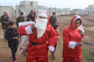 Noel Baba ve Noel Ana Kobanê'ye gelirse...