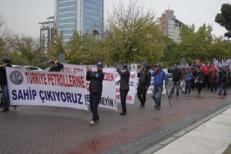Petrol-İş: Türkiye Petrolleri'nin devrine izin vermeyeceğiz