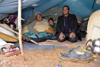 3 metrekarelik çadırda yaşam savaşı