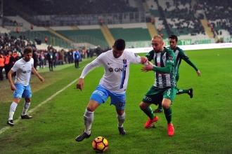 Trabzonspor ligin ikinci yarısına galibiyetle başladı