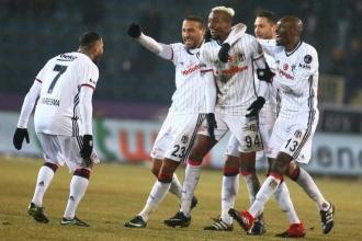 Beşiktaş, Osmanlıspor'u 2-0 yendi