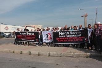Hugo Boss aynı: Sendikalı 2 işçi daha işten çıkarıldı